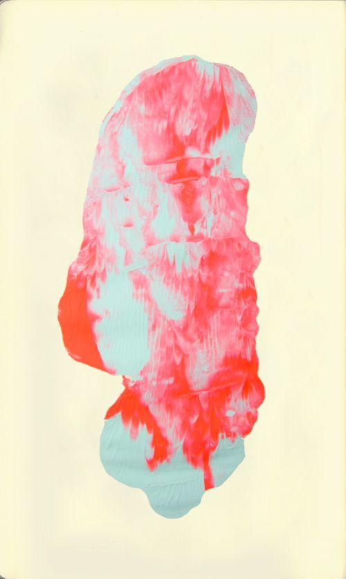 color test on moleskine by amanda mocci