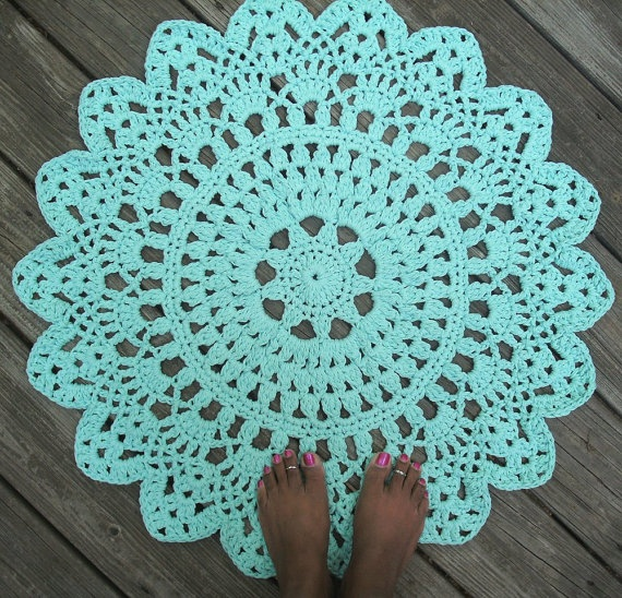 17 Best Images About Crochet Rugs On Pinterest