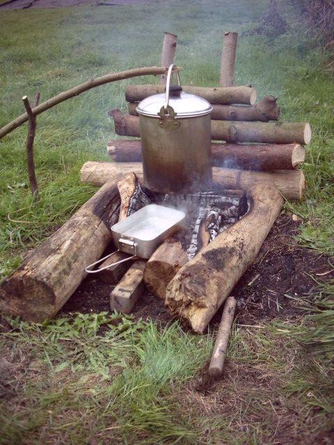 Backwoods and bushcraft training in Lancashire