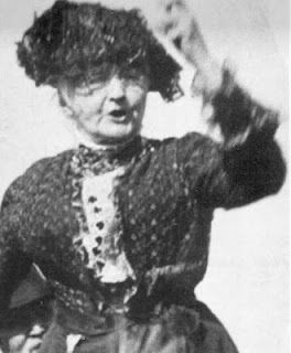 """""""Get it straight: I'm not a humanitarian, I'm a hell-raiser."""" 1912 speech given by activist Mother Jones to West Virginia miners. She was a fearless fighter for workers' rights."""