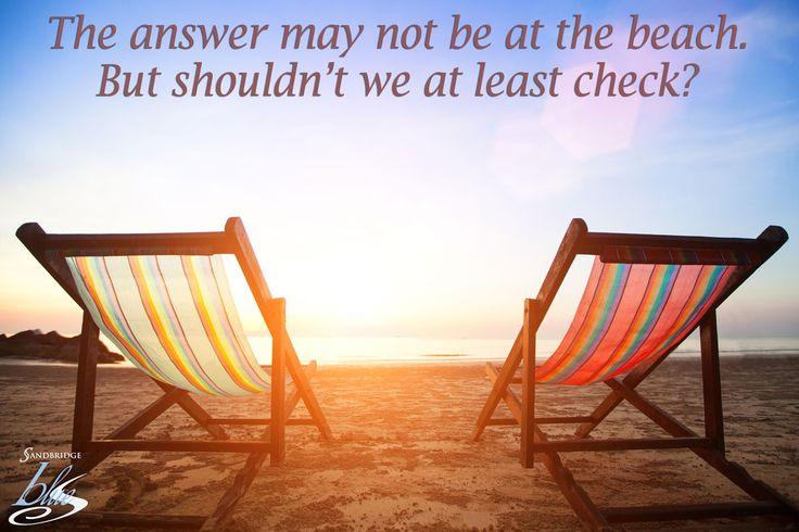 We should at least check, right?!  #Sandbridge #VirginiaBeach #beachquotes