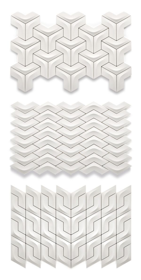 Arc tiles... I've pinned these before, but this link goes to actual design info on the tiles rather than just a picture.