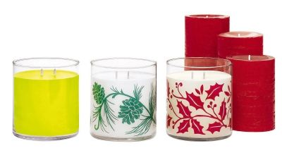 GloLite by PartyLite Scented Jar Candle