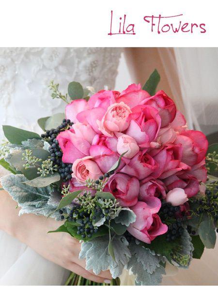 リラ フラワーズ(Lila Flowers) イブピアッチェのブーケ