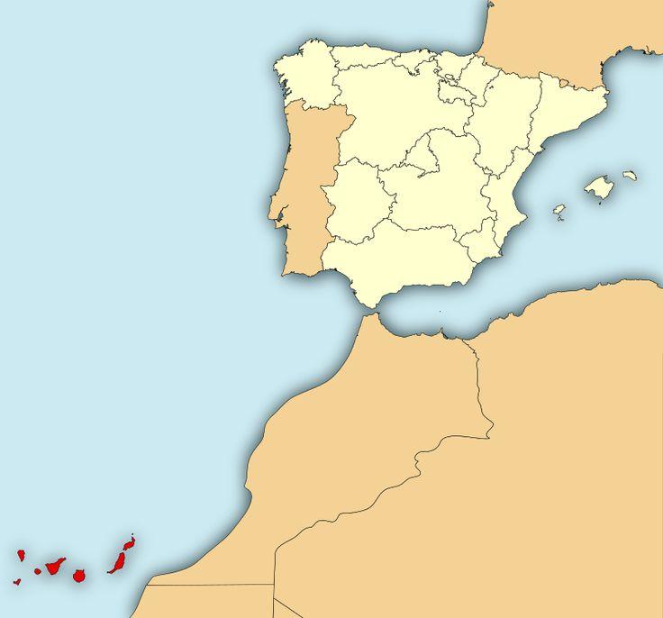 Localisation de Îles Canaries