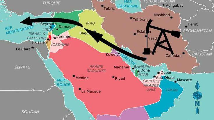 La cause réelle du soutien de l'Arabie saoudite et du Qatar à Daesh : le projet irano-syrien de pipeline allant de l'Iran jusqu'à la Syrie.