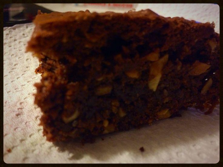 #cake #chocolat #nuts #wot #athome #energyforwork #filmusica