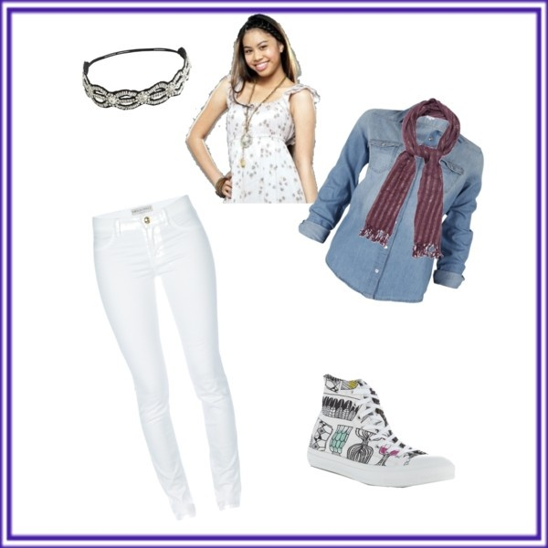"""Lulu inspired outfit! -True Jackson VP"" by emmabananacva ❤ liked on Polyvore"