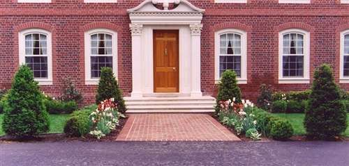17 best images about front yard plans on pinterest for Formal front garden ideas