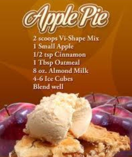 Apple Pie Body By Vi Shake Recipe  http://brittanibellot.bodybyvi.com/