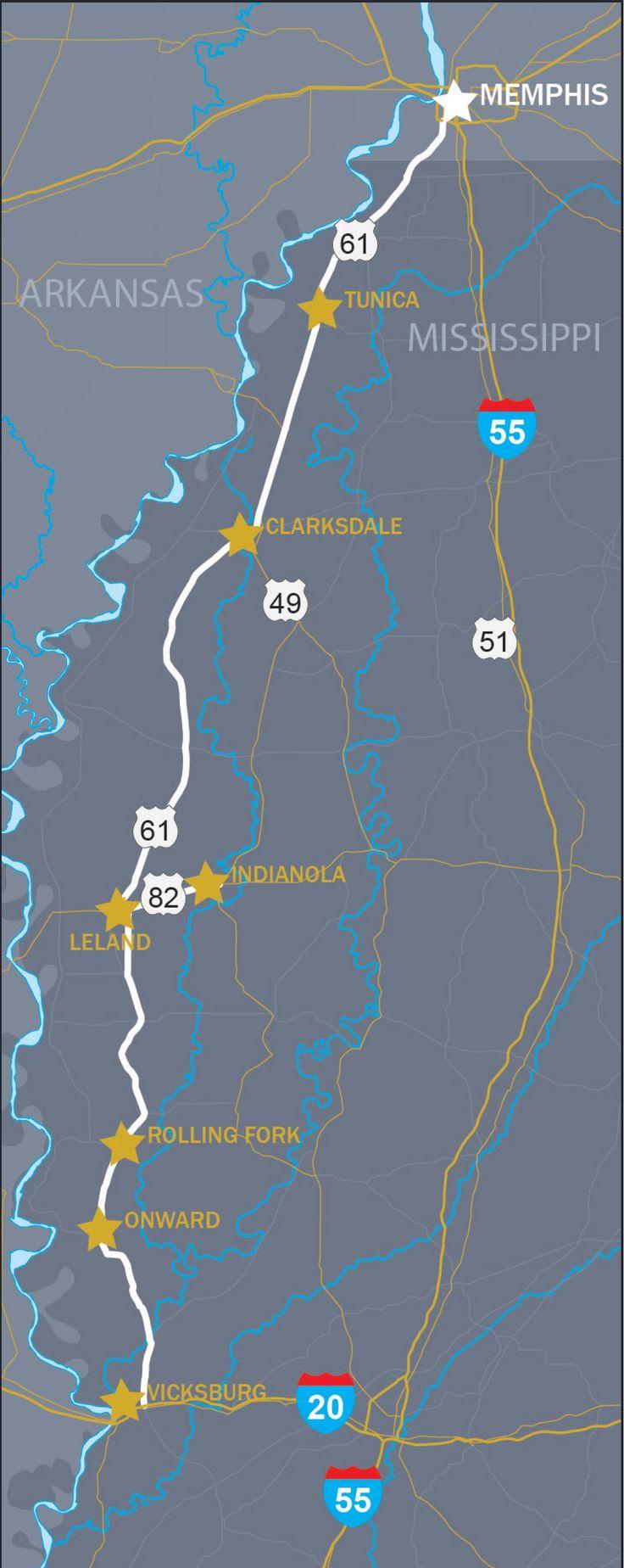 Road Trip from Memphis to Vicksburg Through
