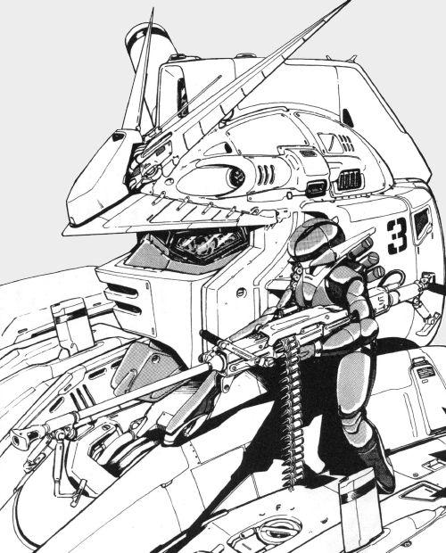 Gundam head close up