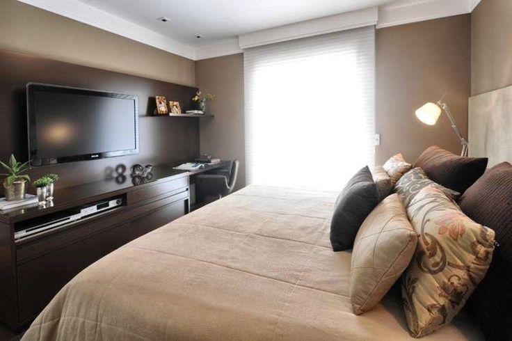 Confira 10 projetos de quartos para casal em imóvel pequeno - Terra Brasil