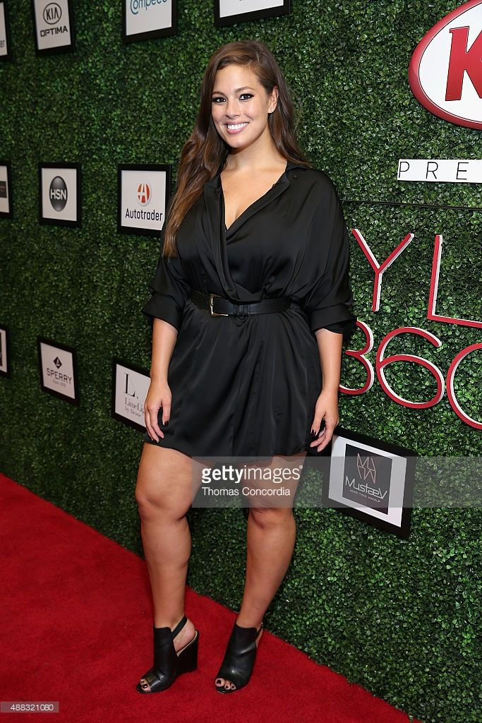 Ashley Graham attends as Addition Elle presents Fall/Holiday 2015 RTW and Ashley Graham Lingerie Collection At KIA STYLE360 on September 15, 2015 in New York City.