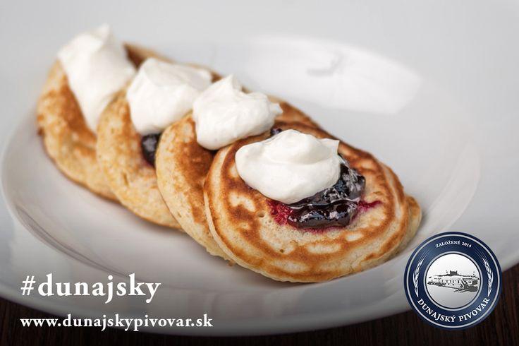 Lievance s čučoriedkovým džemom a krémovo citrónovým tvarohom #dunajsky