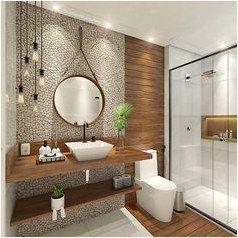 50 schöne Badezimmer Dekor und Design-Ideen