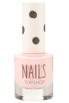 Topshop - Milkshake - gorgeous pastel pink colour. Hard to chip!! Dries fast too! Got it and LOVE it for spring!!!