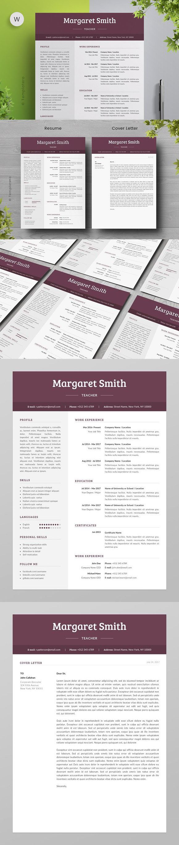 Word Cv Templates 2007%0A Resume Template   Free Cover Letter  Resume Templates