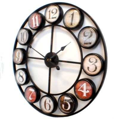 Kare Vintage Wall Clock Colour