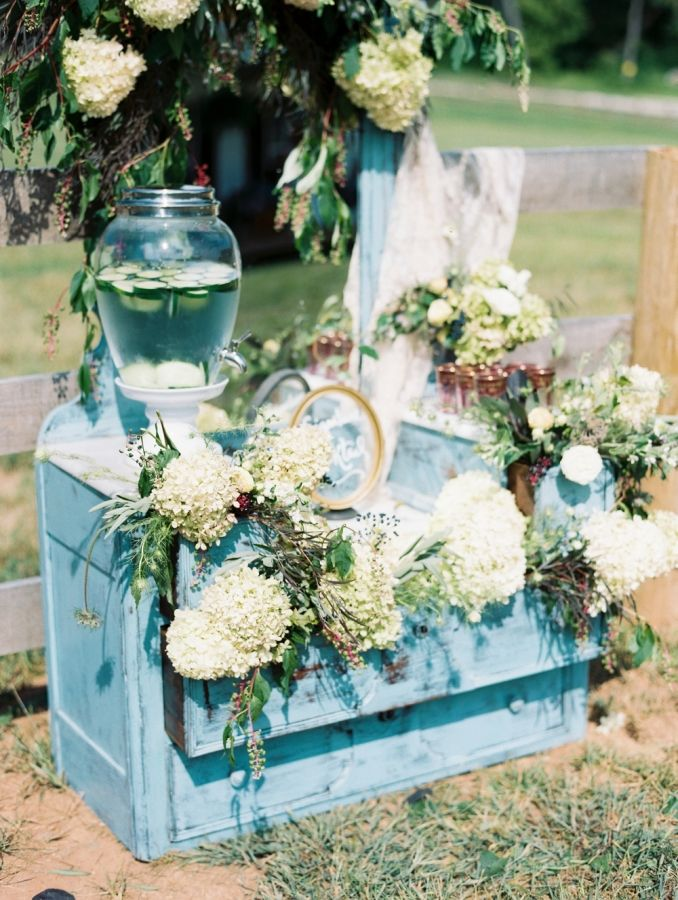 Aquamarine Wedding Decor