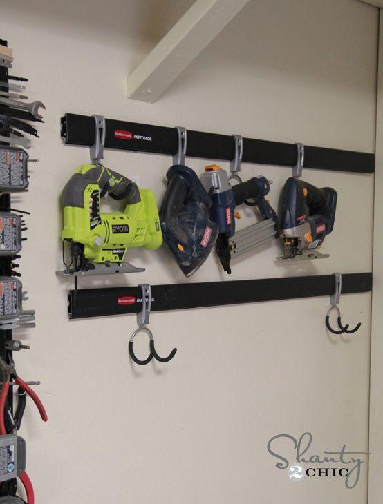 Garage Tool Organization by Rubbermaid