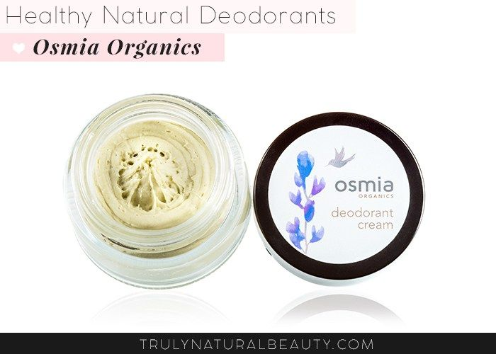 Osmia Organics Natural Deodorant cream. Awesome list!! Ultimate guide to effective natural healthy organic nontoxic aluminum free deodorant.Please REPIN! <3 :)