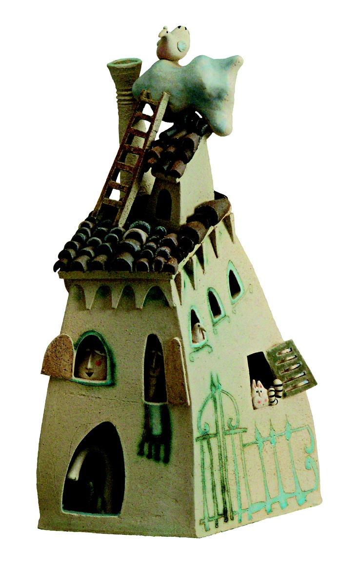 Images about ceramic houses inspiration for clay