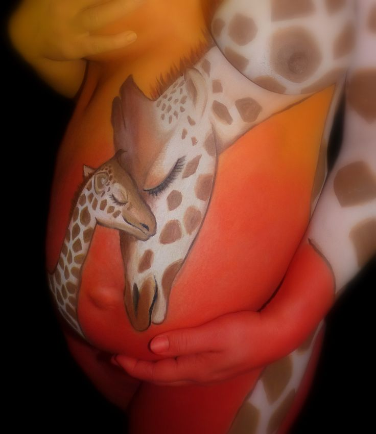wow! belly painting