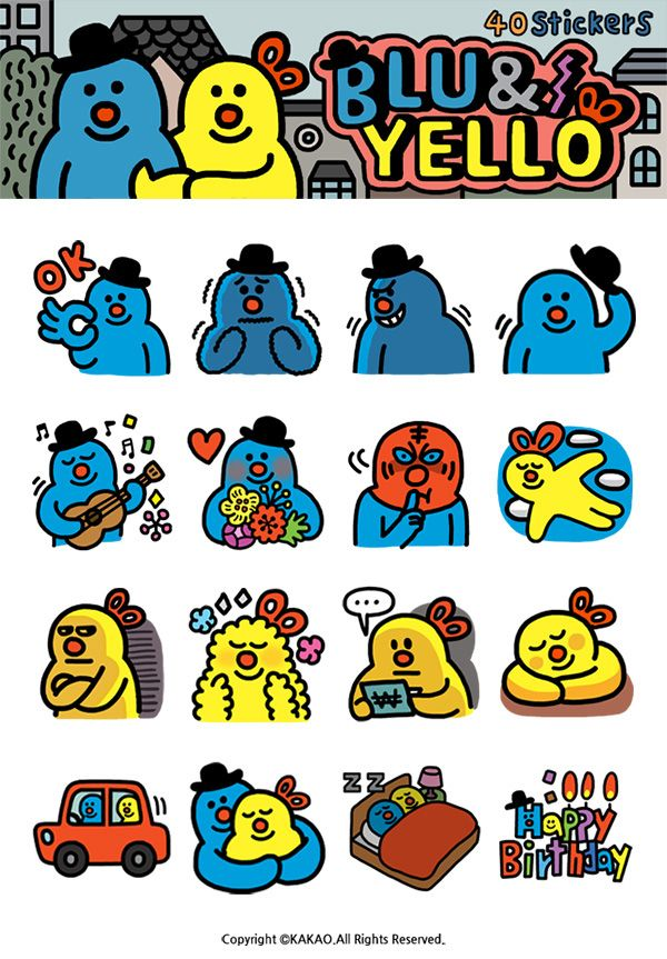 Kakao Talk on Behance