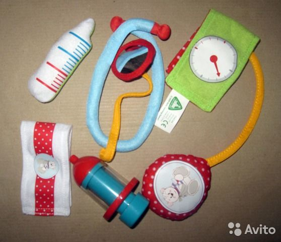 Маленький доктор больница новый