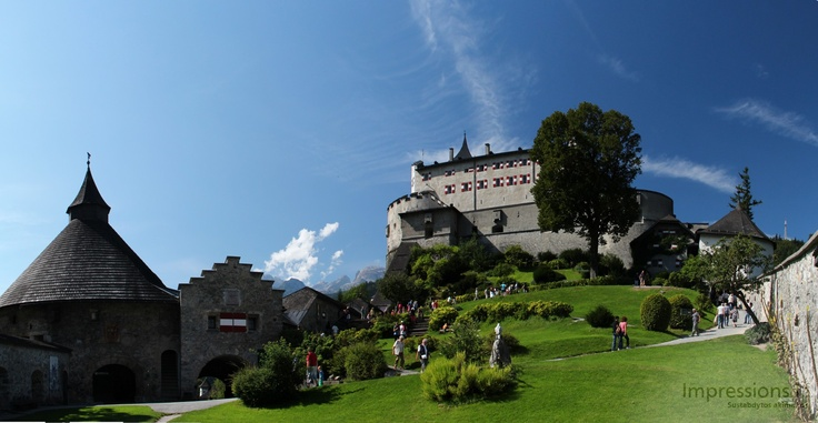Have you seen hunting Eagles? Go to Werfen Castle in Austria.