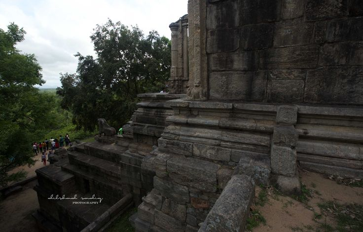 the beautifully carved granite structure of yapahuwa. the capital (1272-1284) was abandoned after the king Buvenekabahu died and the country was invaded by the south indian dravidians