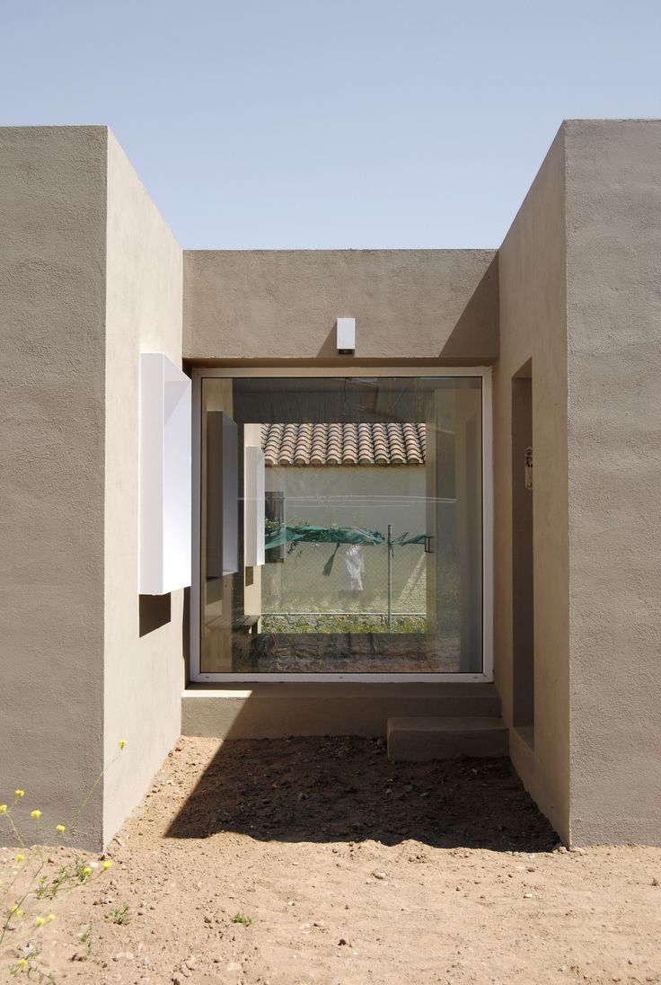House for Pau & Rocio - Arnau Tiñena - Courtyard detail - Architecture - Small House