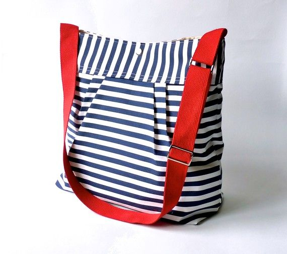 water-resistant canvas bag (handmade in Paris...which definitely makes it extra awesome)
