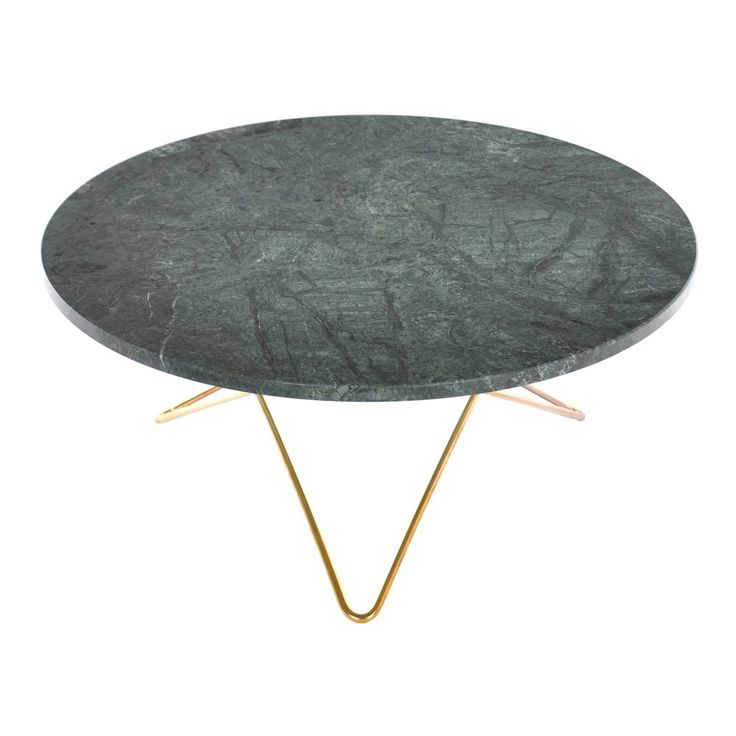 O Table Marmor Green Indio Soffbord | OX Design | Länna Möbler | Handla online