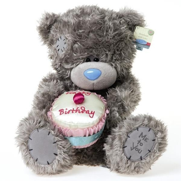 ┌iiiii┐                                                              Happy Birthday Cupcake Tatty Teddy
