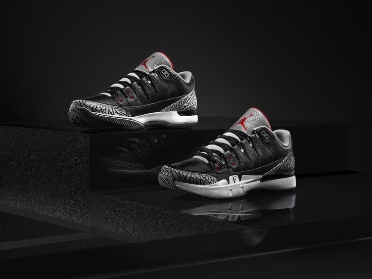 NIKECOURT Zoom Vapor AJ3. Back in black