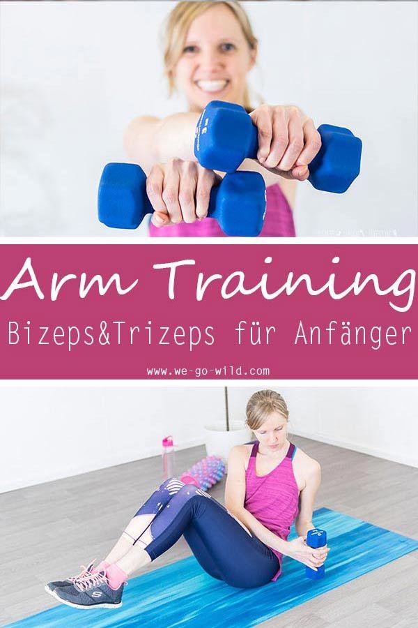 Das beste Arm Training für Frauen: 22 effektive Übungen für die Oberarme – Mäuschen Nr2