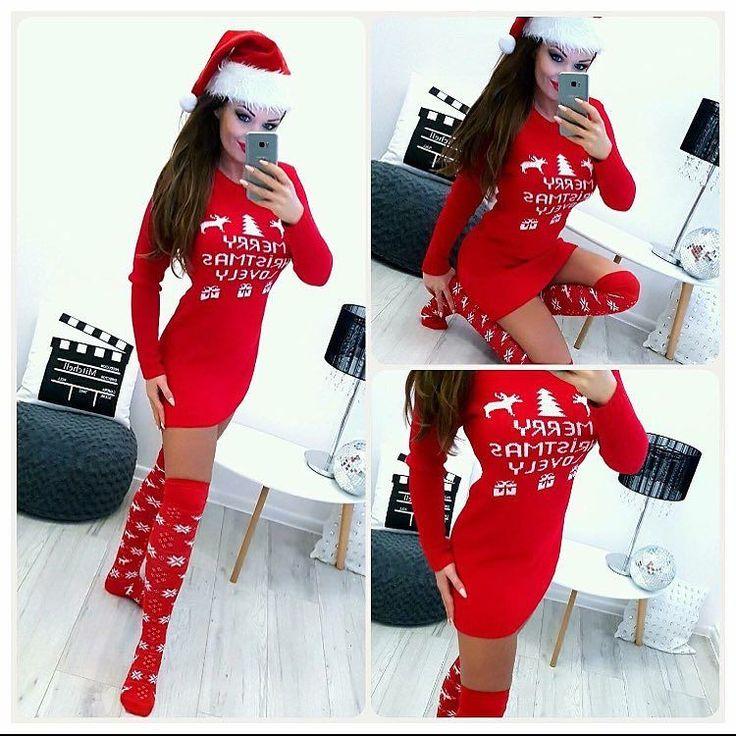 #merrychristimas vianočné šaty veľ.UNI 3390 #newcollection#tvojstylfashion