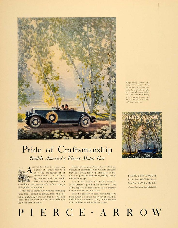 224 best Pierce-Arrow Motor Cars Co + images on Pinterest