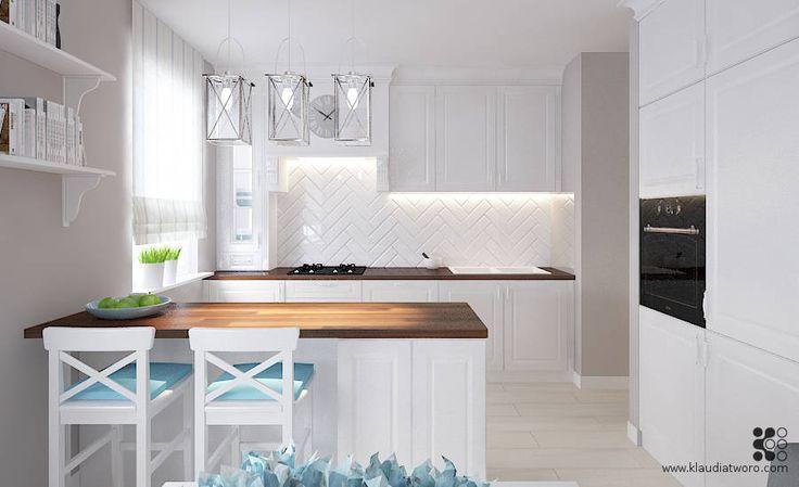 Biała Kuchnia (do Klaudia Tworo Projektowanie Wnętrz)