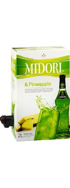 Midori has always been a party favourite and now the great Midori taste is even more party friendly in this Midori and Pineapple 2L pre-mixed cask. Taking a lead from the famous Midori Illusion Cocktail, simply place in the fridge and enjoy with great friends and great music this summer.