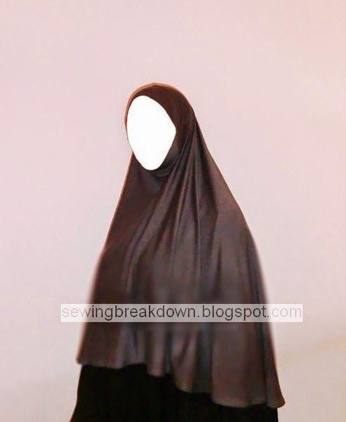 خطوات خياطة خمار لحجاب شرعي - خياطة و تفصيل