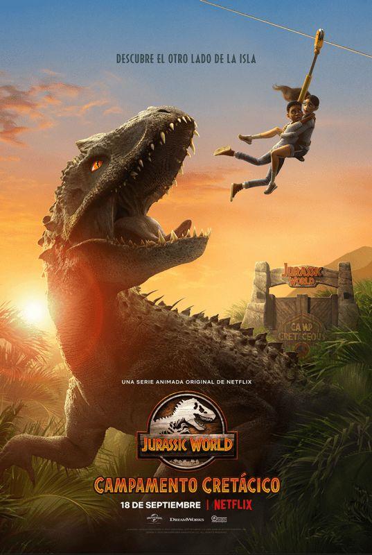 Antes de dar início à sua pintura, descubra algumas curiosidades e ideias sobre o filme que deu origem à quatro sequências: Jurassic World Campamento Cretácico ya con fecha de