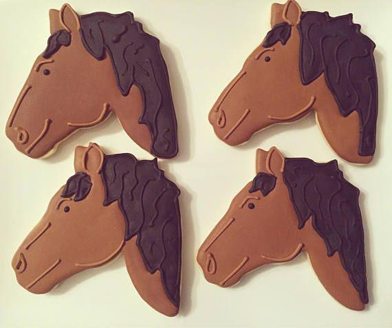 Cookies  galletas de azúcar de caballo  caballo cumpleaños