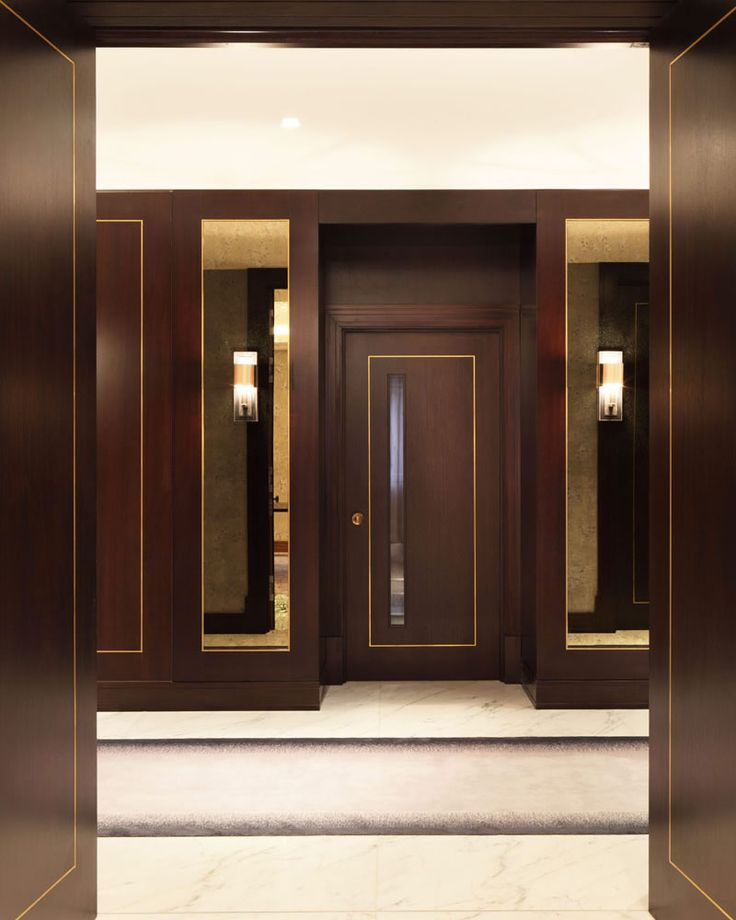 Bronze inlay panelling