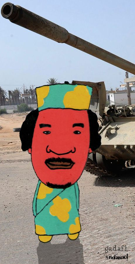 Dictators & Terrorists by Mister Rancio, via Behance