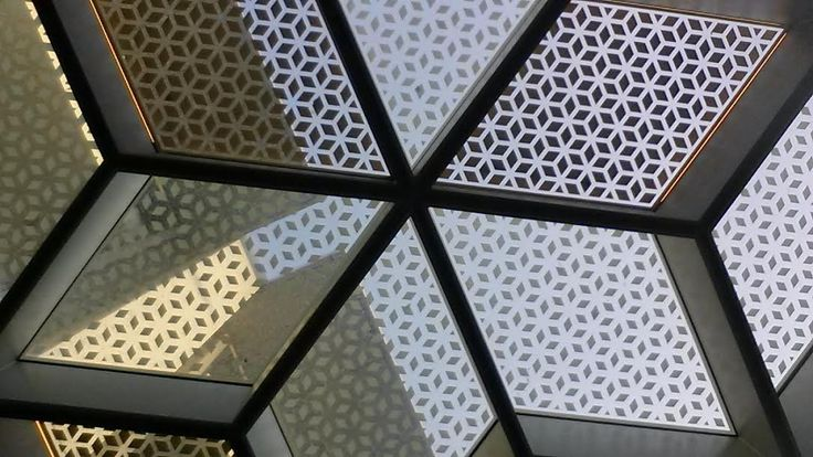 Photo Ceiling of the alfresco area of the Baci Cafe/restaurant.