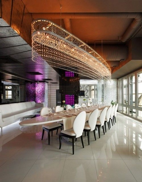 Restaurant Design: Sky Lounge by Roman Leonidov Architects