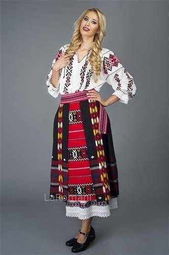 Costum popular Muntenia